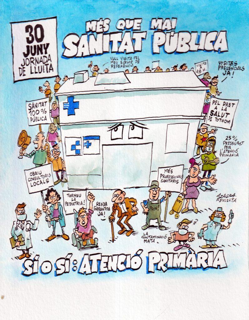 mobilitzacions 30 juny per l'atenció primària